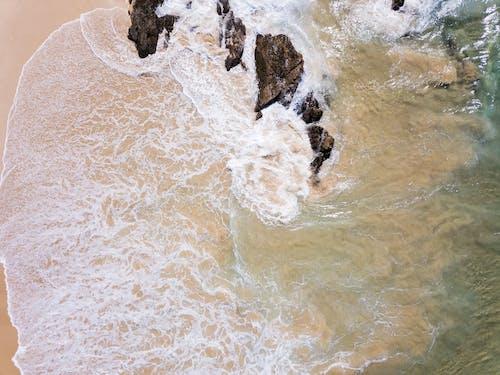 Základová fotografie zdarma na téma letecký snímek, moře, oceán, pobřeží