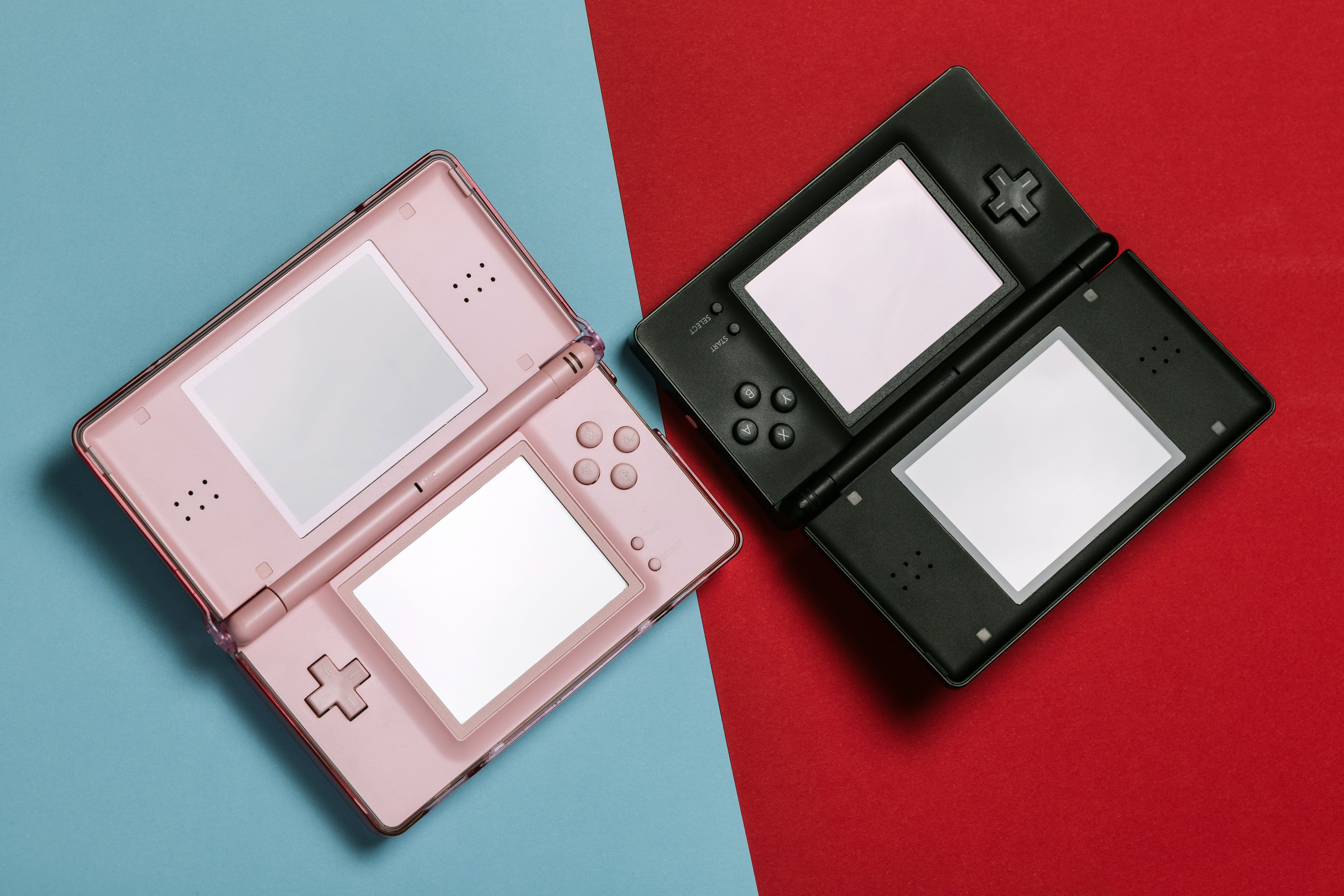 Pink And Black Nintendo DS