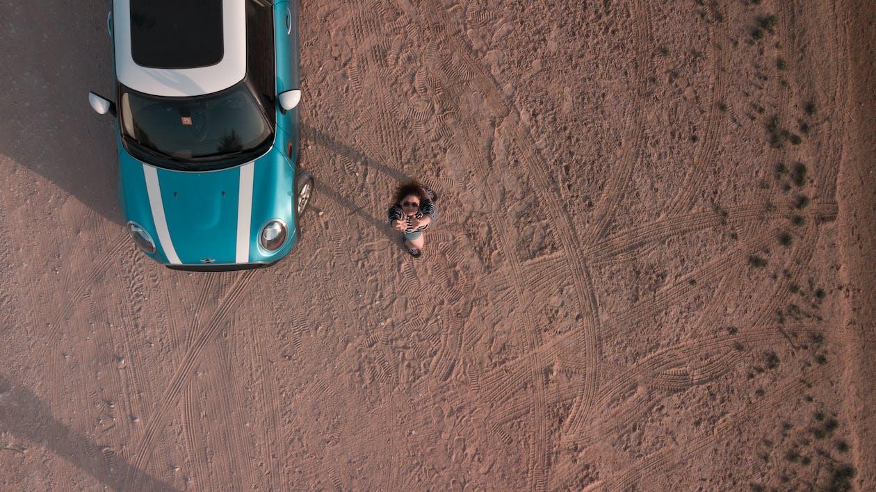 araba, araç, hava çekimi
