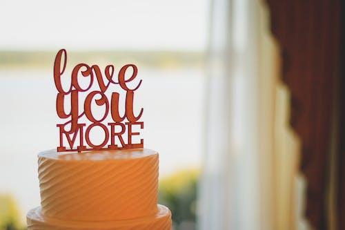 Düğün pastası, Gıda, hamur işi, kek içeren Ücretsiz stok fotoğraf