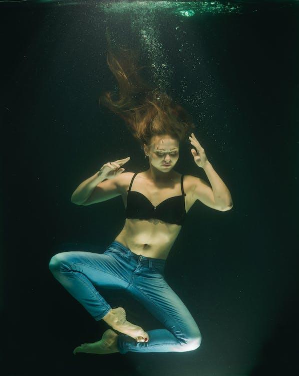 Woman Swimming