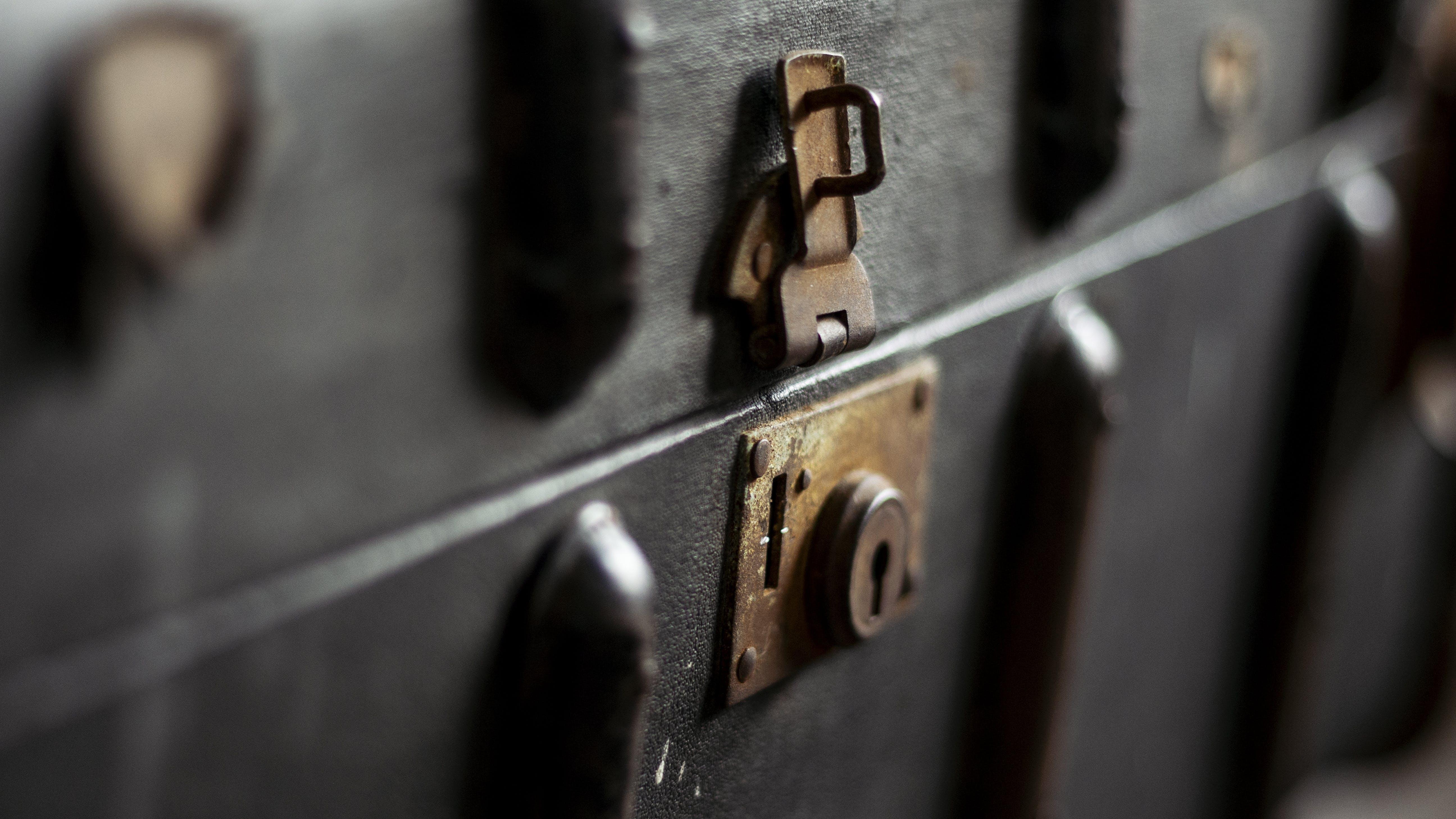 Free stock photo of 1960's, history, key and lock, keyhole