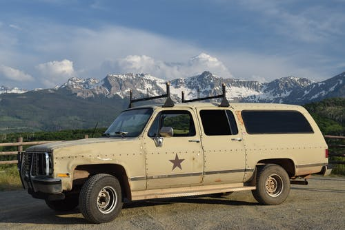 Бесплатное стоковое фото с величественный, виды, горы, грузовик
