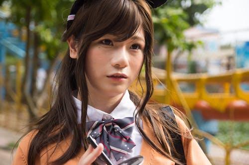 Gratis stockfoto met aantrekkelijk mooi, anime, Aziatische vrouw, blurry achtergrond