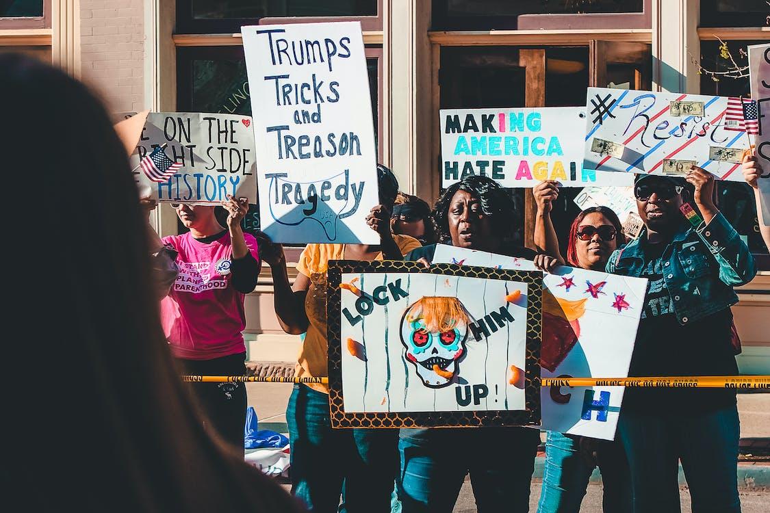 akce, dav, demokracie