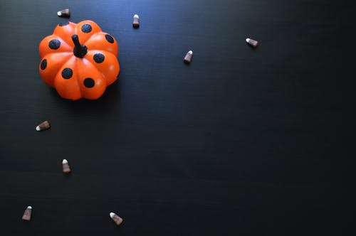 Free stock photo of halloween, halloween decoration, halloween flat lay