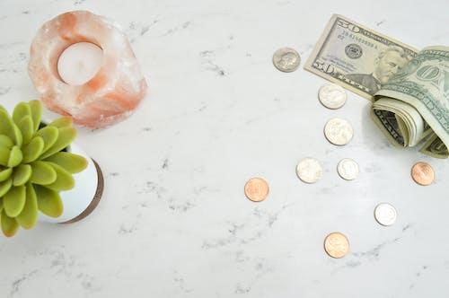 お金, お金の写真, お金の考え方, お金フラットレイの無料の写真素材