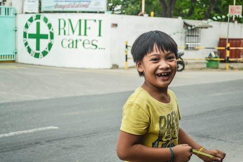 Základová fotografie zdarma na téma chlapec, děti, šťastné dítě, úsměvy