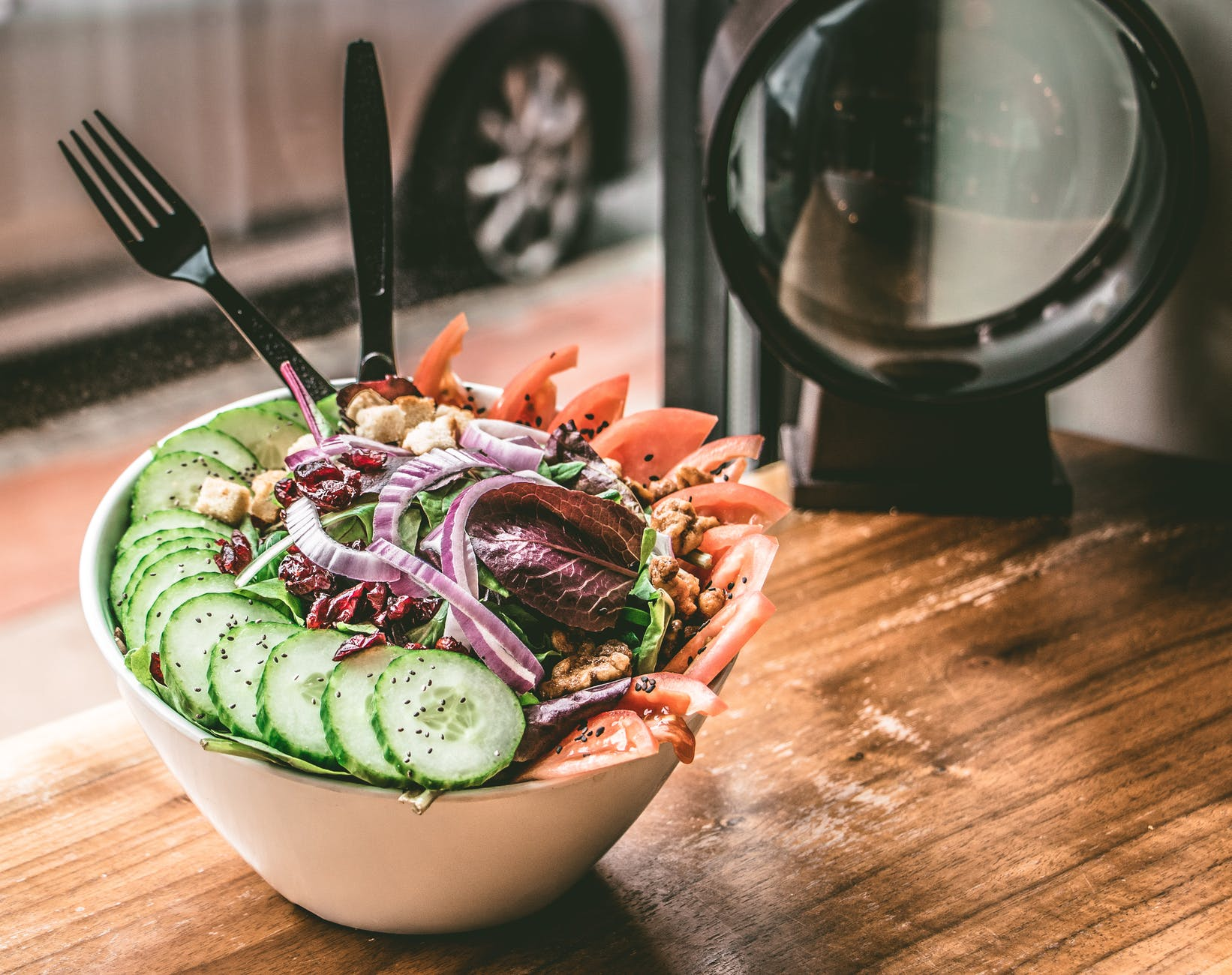 Arabic Salad Ingredients