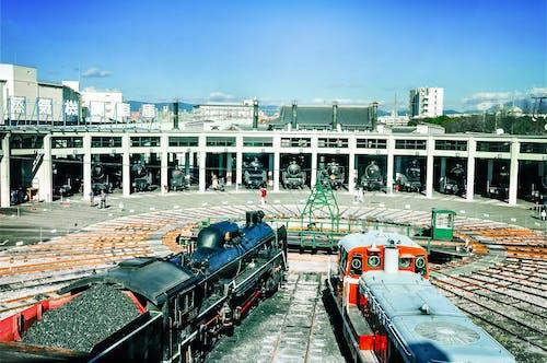 Základová fotografie zdarma na téma parní vlak, trénovat, železnice, železniční stanice