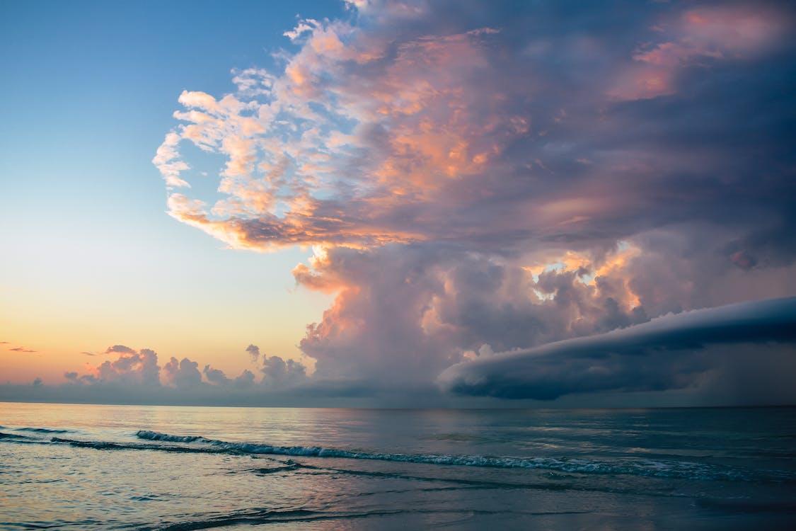 cloudscape, シースケープ, ビーチ