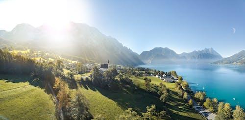 Бесплатное стоковое фото с attersee, hã¶llengebirge, schafberg, Австрия