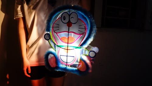 Free stock photo of lanterns, midnight