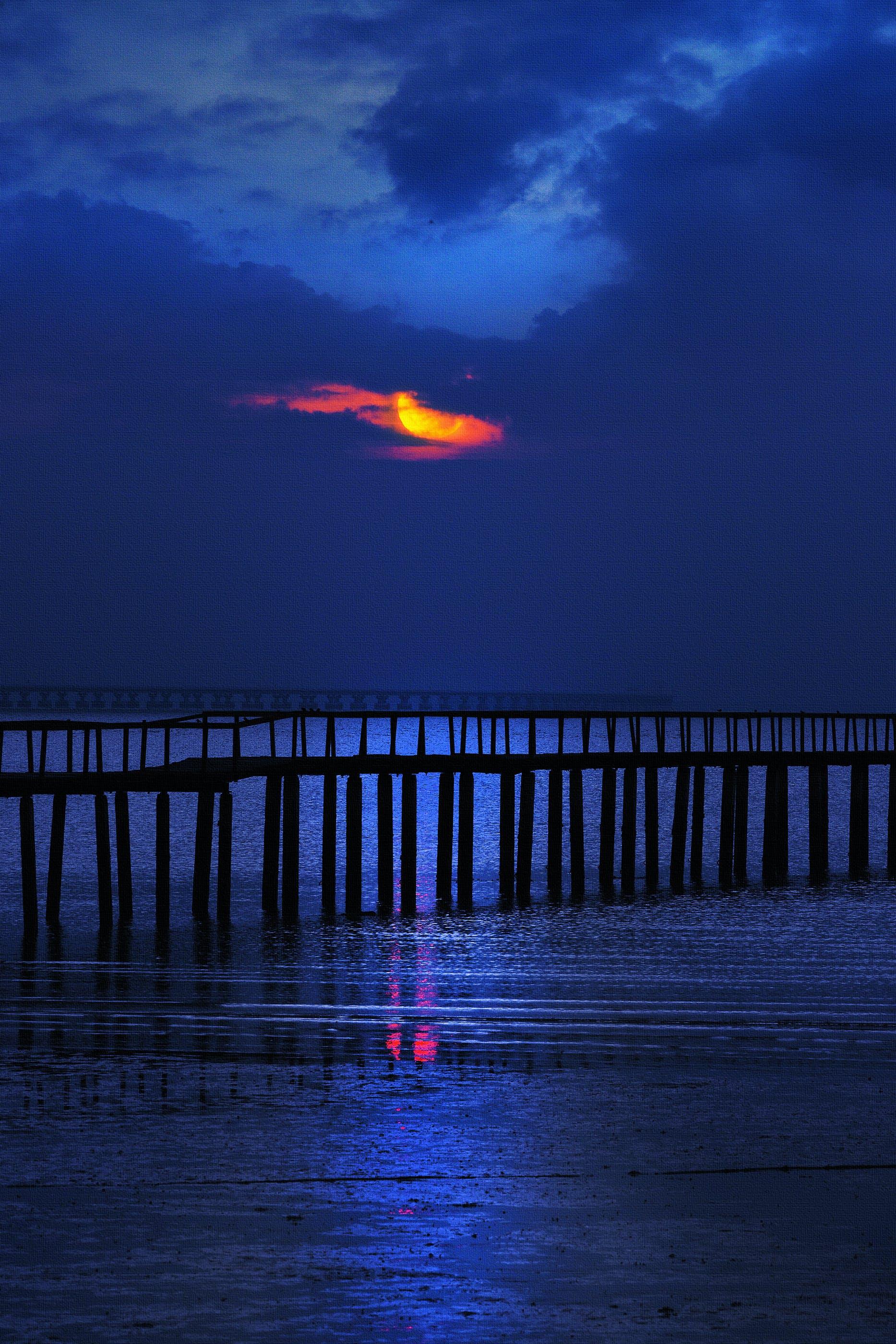 Ảnh lưu trữ miễn phí về bầu trời, bên bờ biển, bến tàu, biển