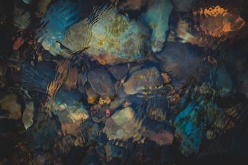 Foto profissional grátis de água, águas calmas, colorido, cor na água