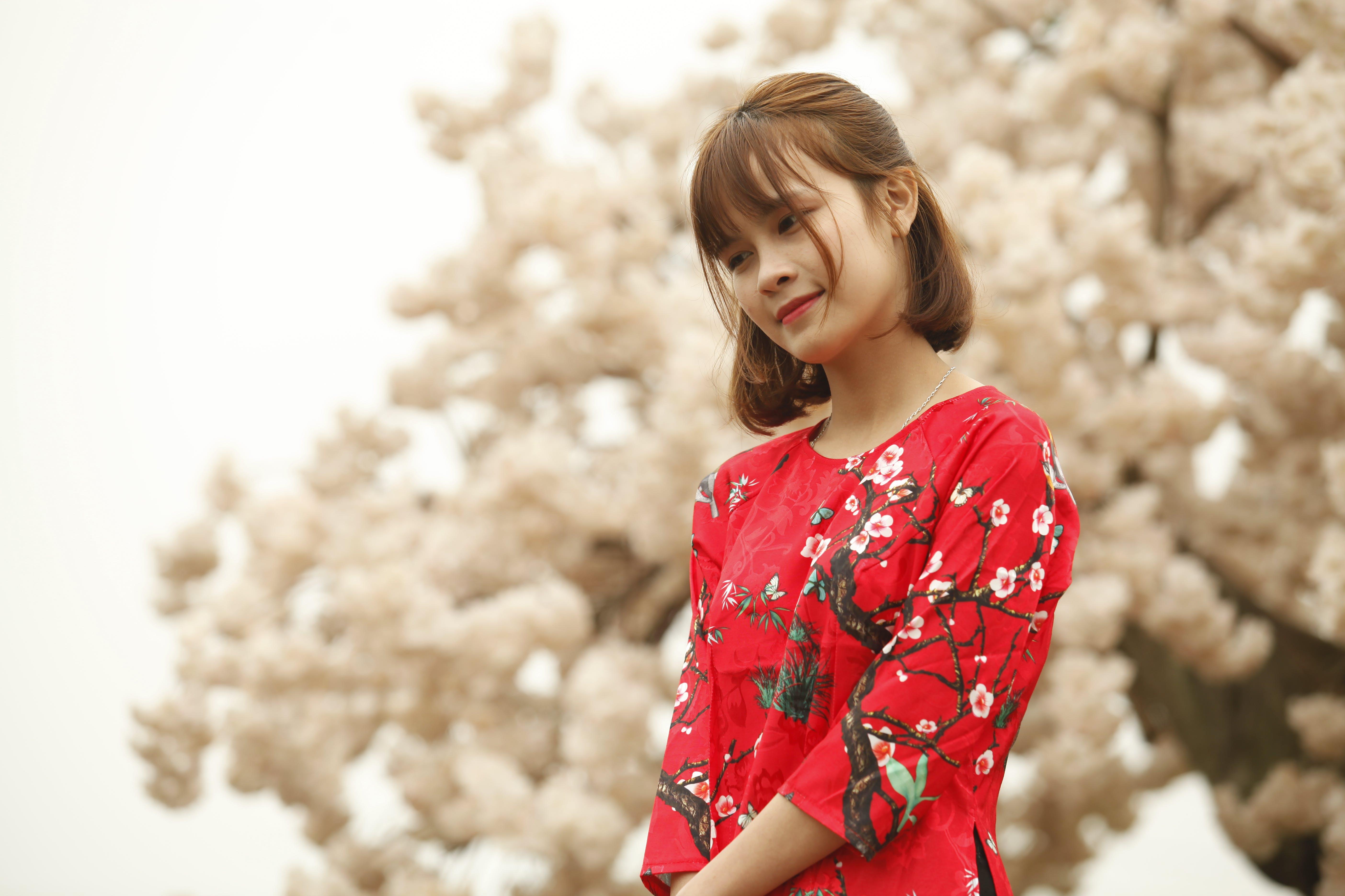 Ingyenes stockfotó álló kép, aranyos, arckifejezés, ázsiai lány témában
