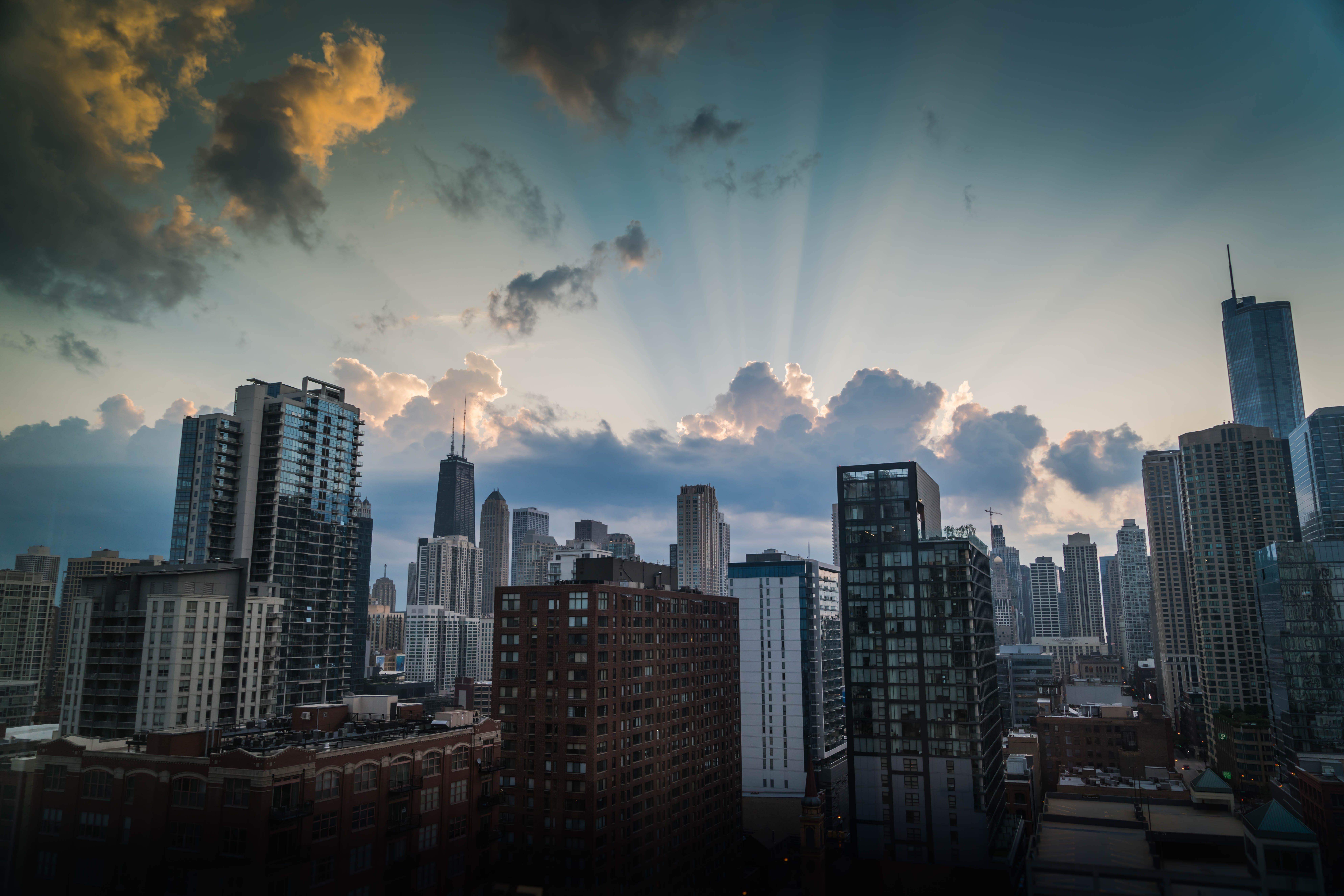 Kostenloses Stock Foto zu architektur, chicago, gebäude, hd wallpaper