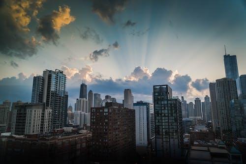 Imagine de stoc gratuită din arhitectură, centrul orașului, chicago, clădiri