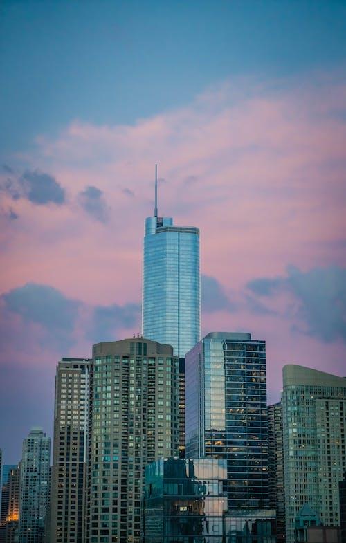 Imagine de stoc gratuită din apus, arhitectură, centrul orașului, chicago