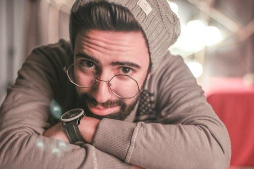 Fotobanka sbezplatnými fotkami na tému brada, chlapec, človek, detailný záber