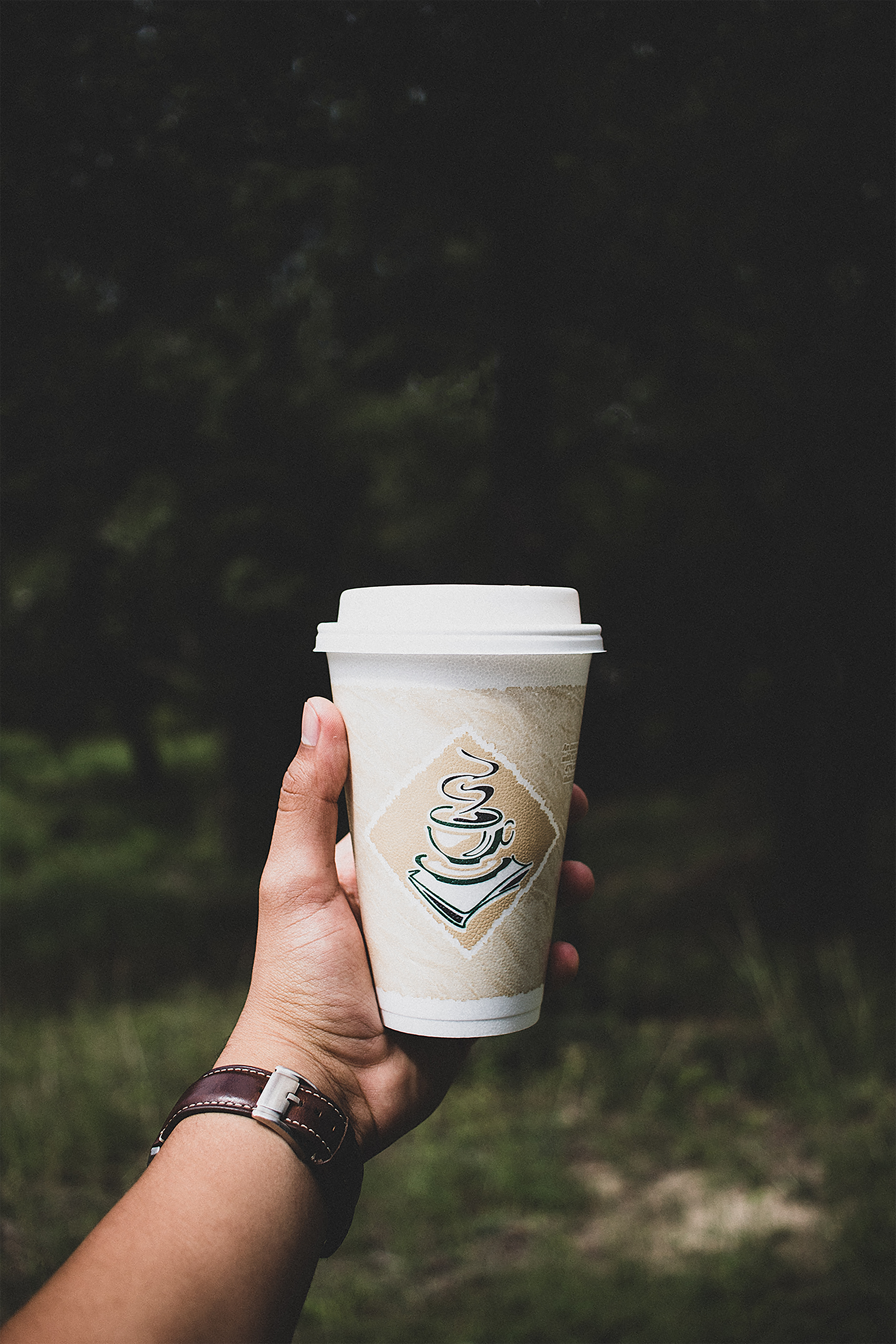 Photo Of Person Holding White Paper Cup 183 Free Stock Photo