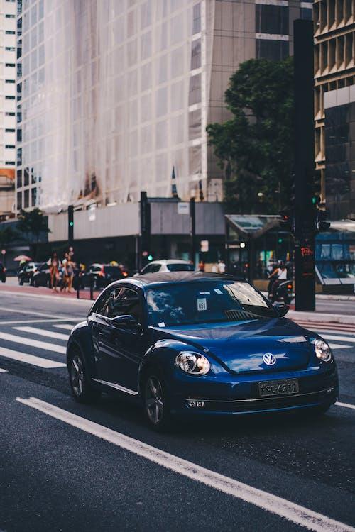 Photo of Volkswagen Car on Road