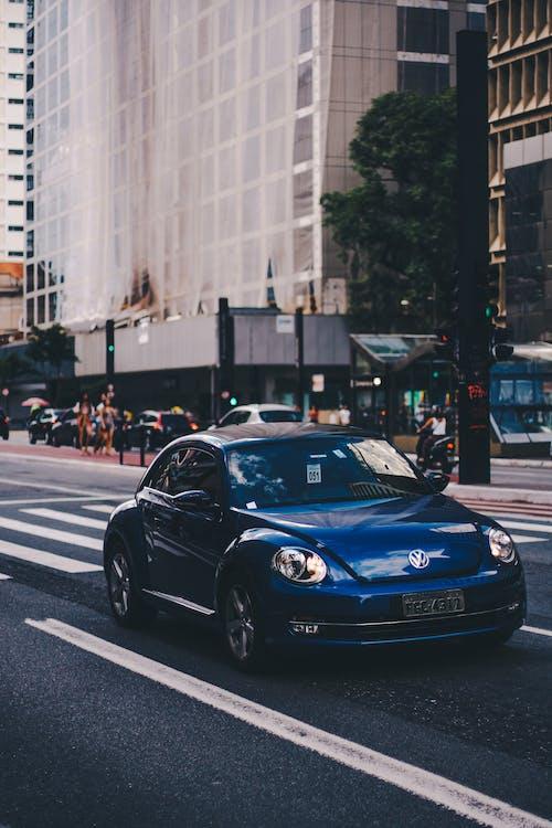 asfalt, bil, bil-