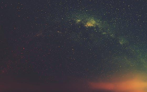 Free Stock Photo Of Sky Night Dark Galaxy