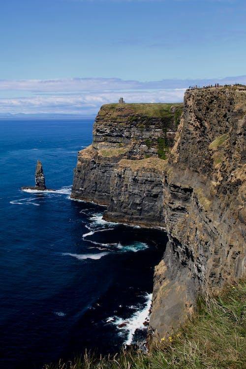 Gratis lagerfoto af bugt, dagslys, hav, klippe