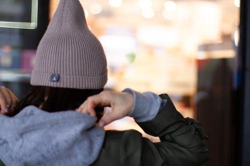 Fotos de stock gratuitas de boina de lana, desgaste, Moda, mujer