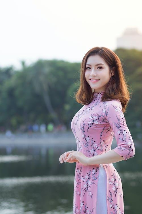 Ingyenes stockfotó álló kép, ázsiai lány, ázsiai nő, divat témában