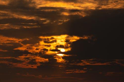 Foto stok gratis awan, backlit, cahaya, cuaca