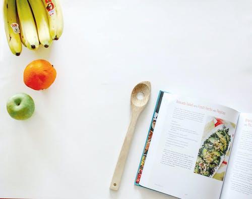 Ingyenes stockfotó alma, banánok, élelmiszer, felülről témában