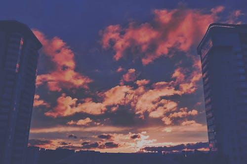 Foto d'estoc gratuïta de alba, arquitectura, capvespre, cel