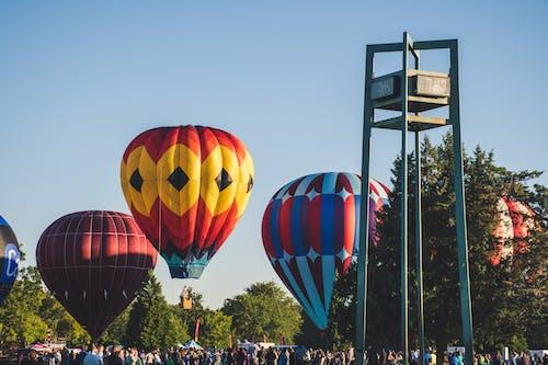 Imagine de stoc gratuită din baloane, baloane cu aer cald, celebrare, concert