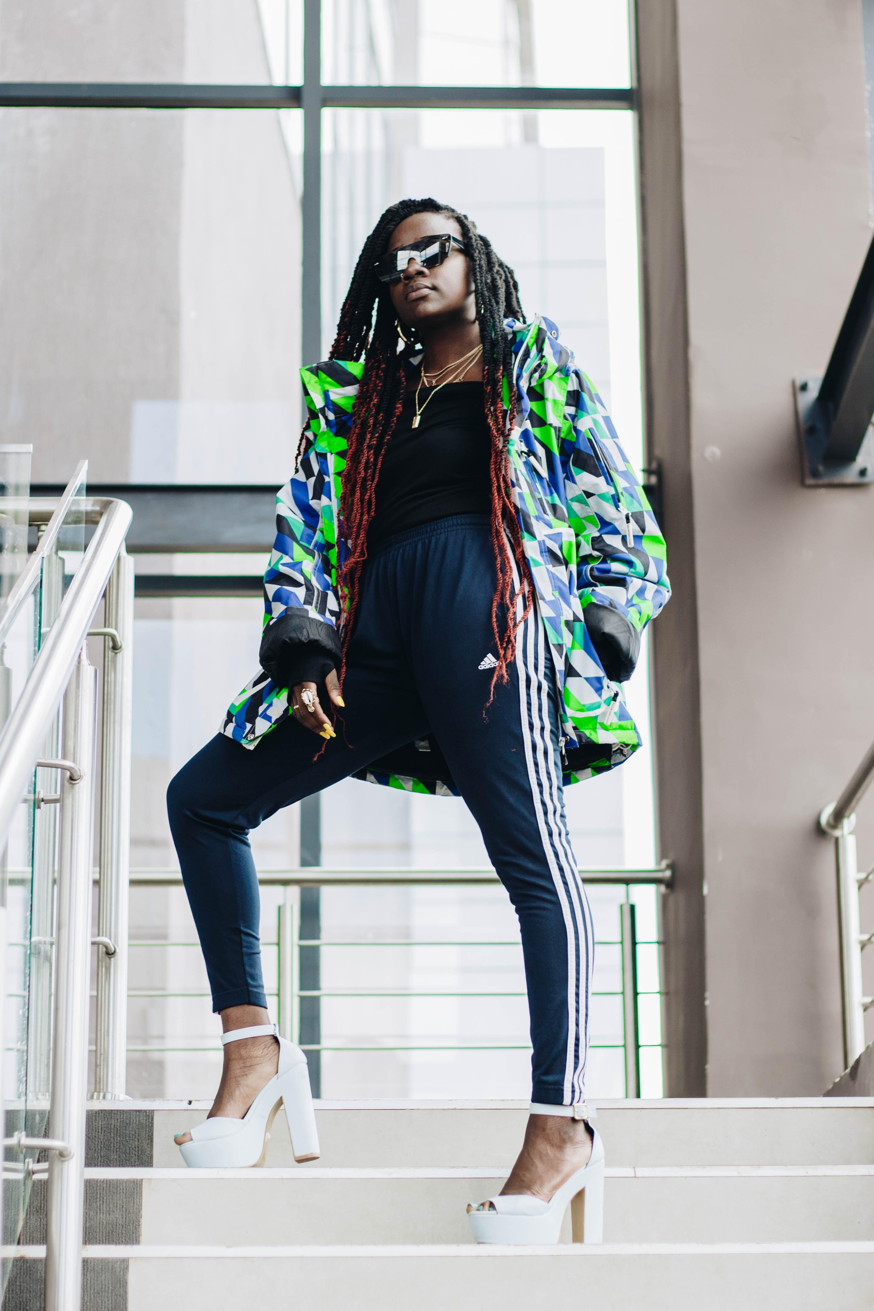 Ingyenes stockfotó afrikai nő, afro-amerikai nő, divat, divatos témában