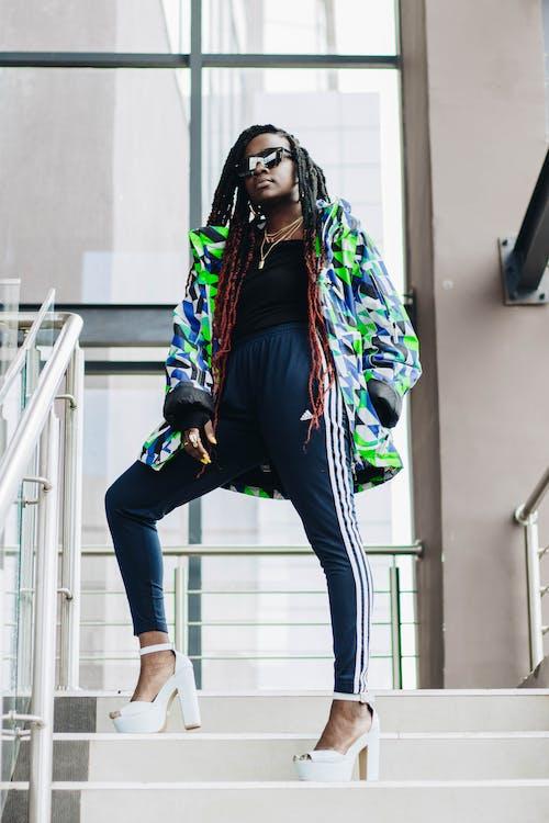 afrikansk kvinde, afroamerikansk kvinde, dame