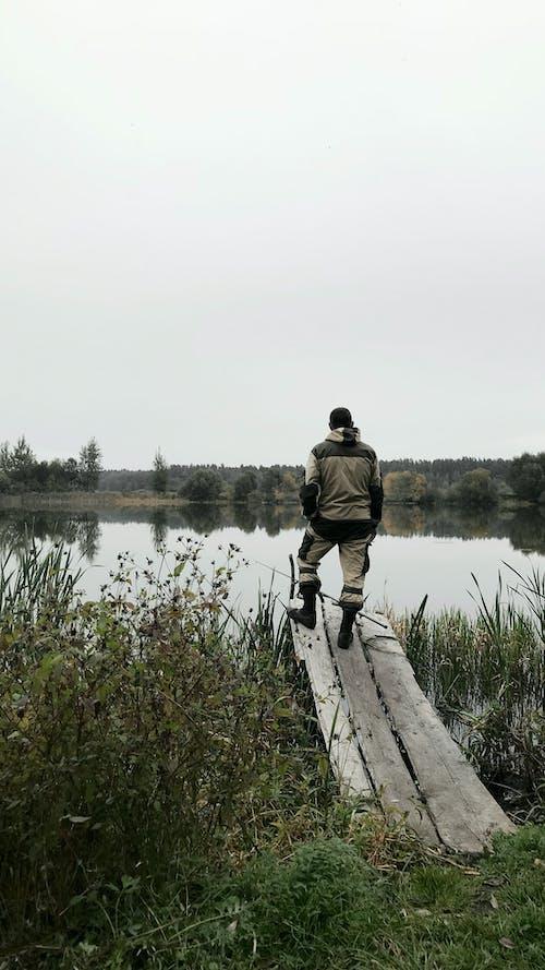 Kostnadsfri bild av fiskare, fiske, iPhone-bakgrund, natur