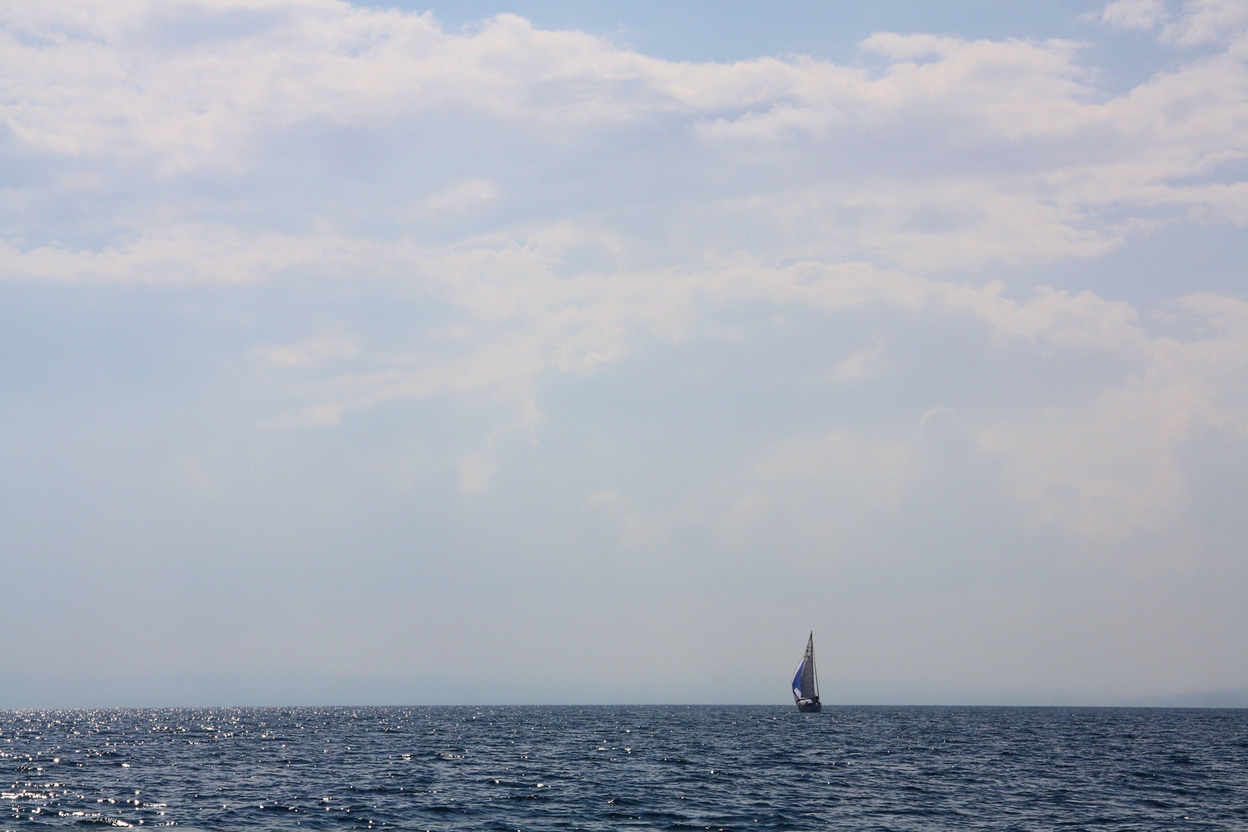 Free stock photo of blue sky, cloudy sky, deep, grey