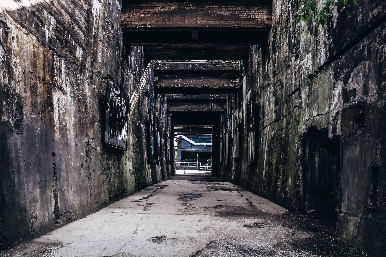 Photo of Pathway Between Walls