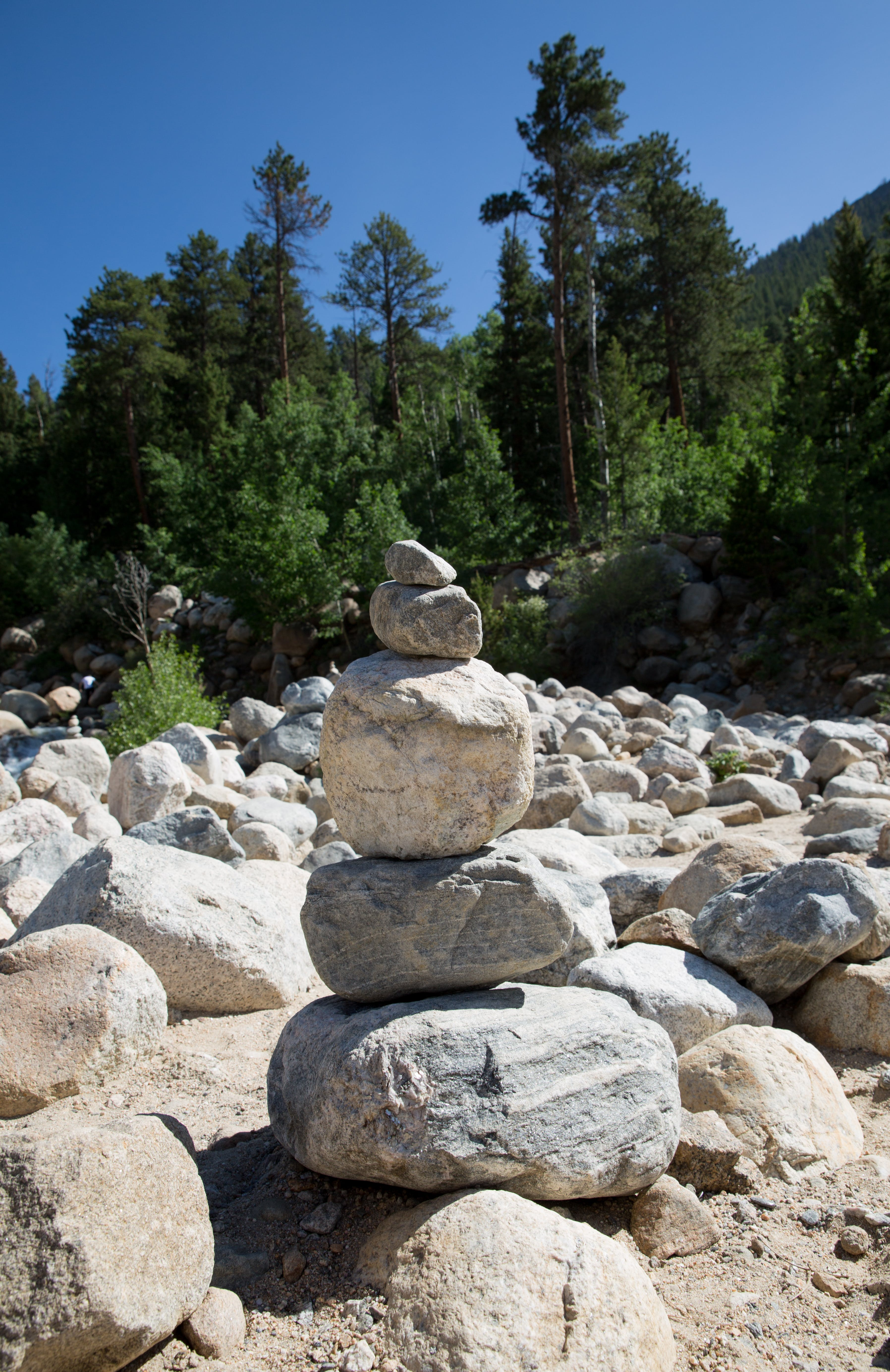 Free stock photo of boulders, mountain, rocks, stacked