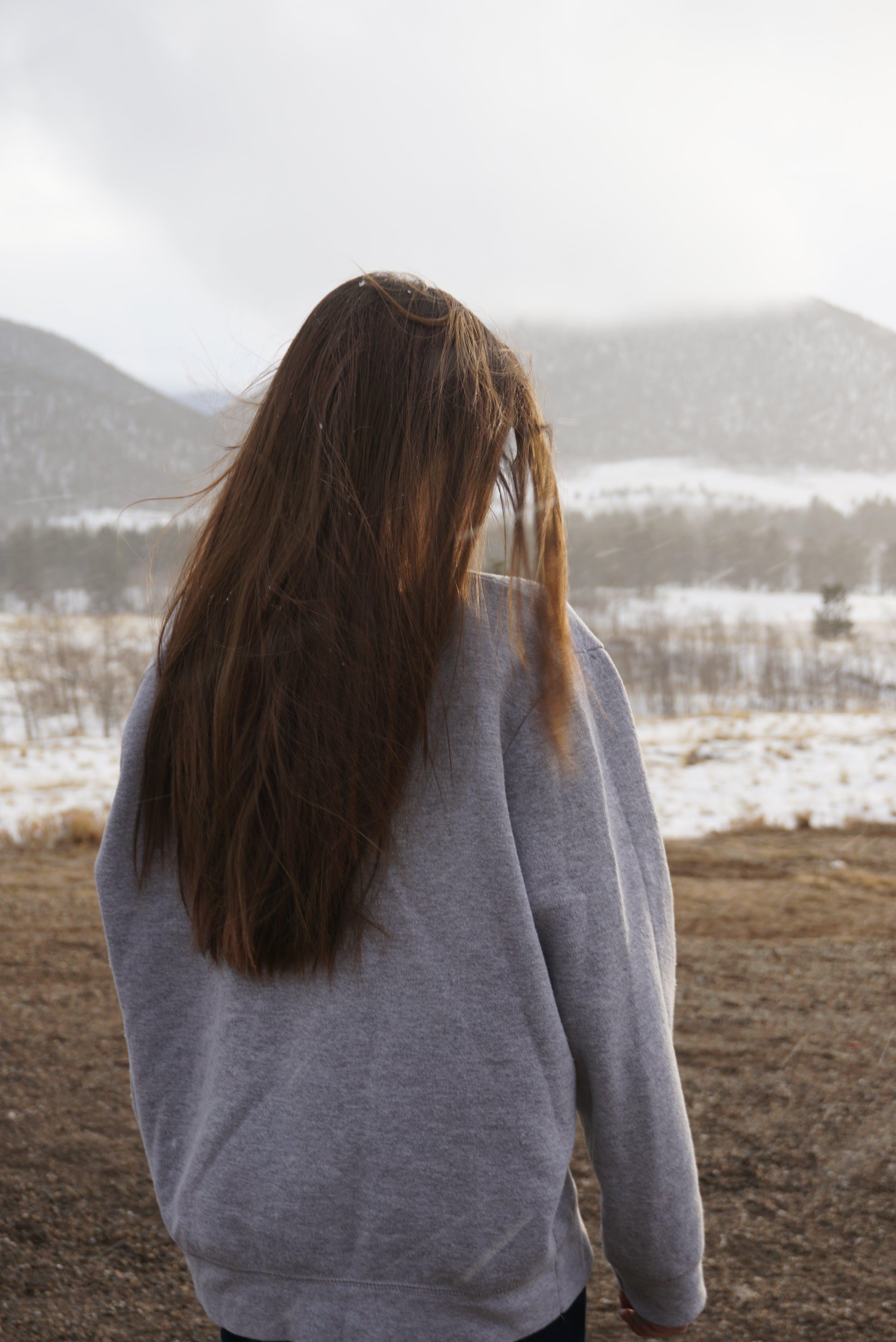 Foto d'estoc gratuïta de bonic, cabell, color, constipat