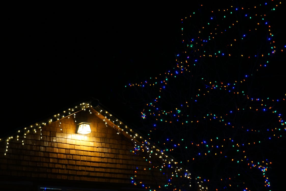 ánh sáng, chiếu sáng, giáng sinh