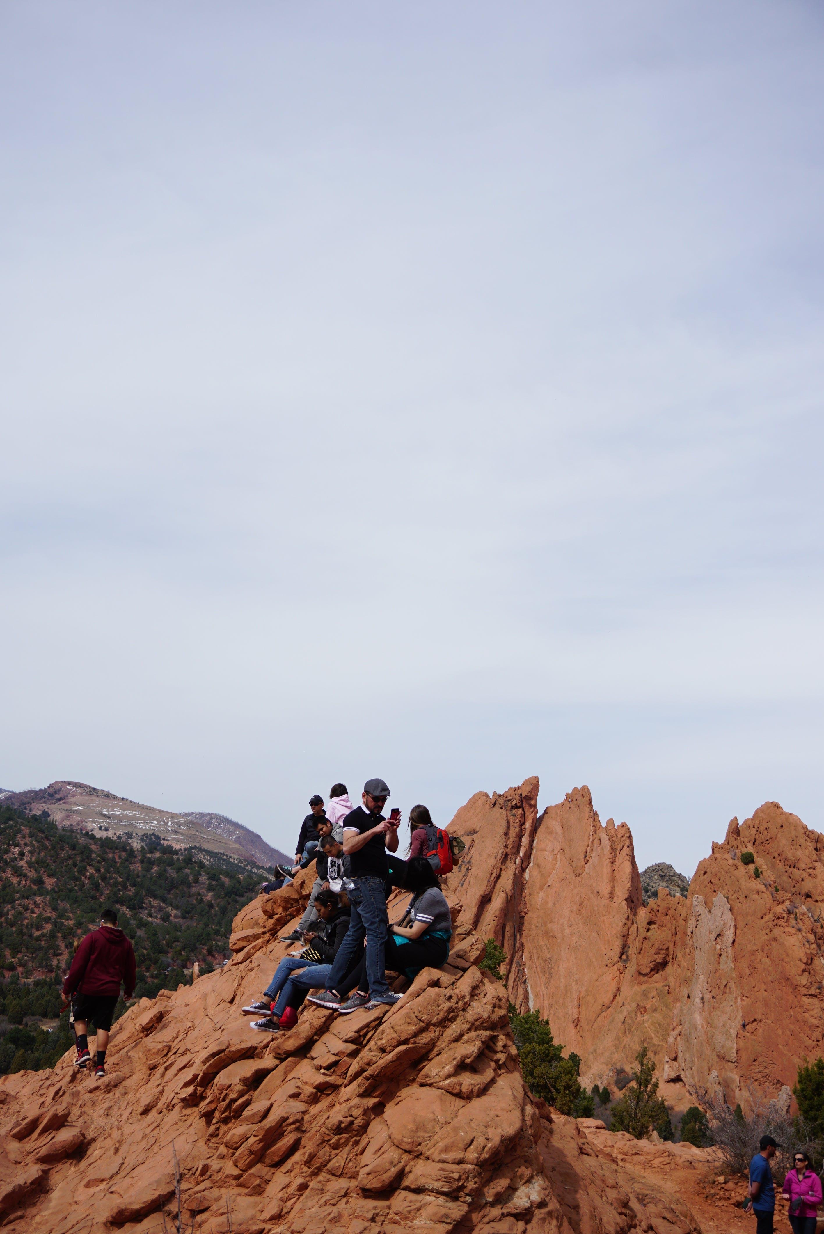 Kostenloses Stock Foto zu abenteuer, action, berg, bergsteigen
