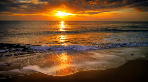 Gratis stockfoto met avond, dageraad, golven, h2o