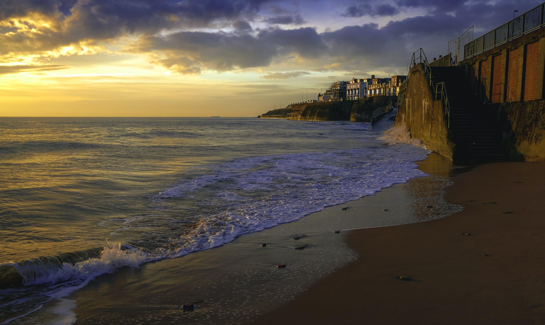 Δωρεάν στοκ φωτογραφιών με άμμος, απόγευμα, αυγή, γνέφω