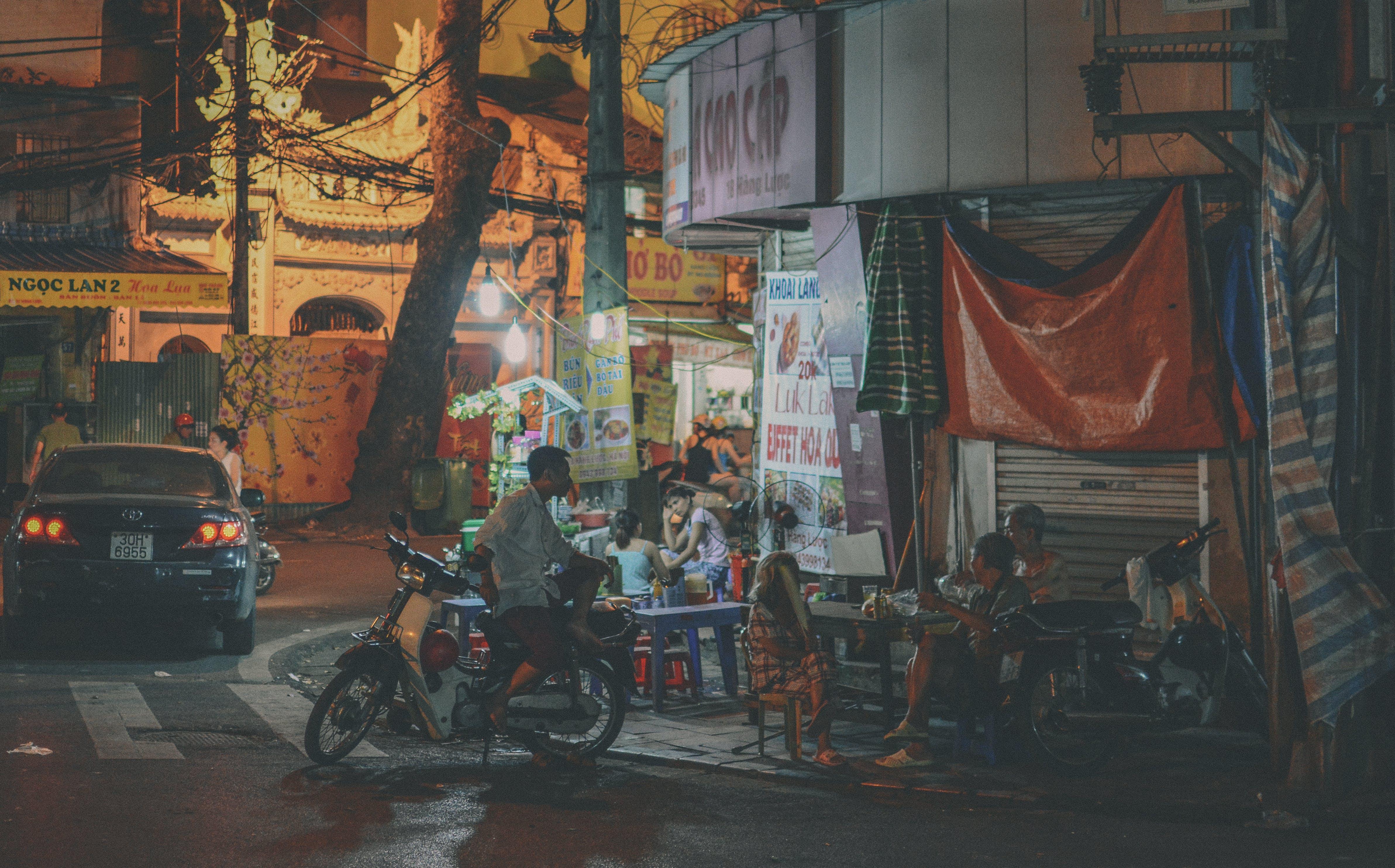 Free stock photo of city, drink, eating, Hanoi