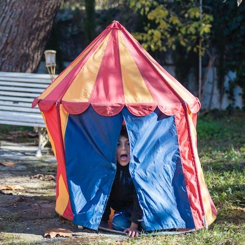 Kostenloses Stock Foto zu bezaubernd, campingplatz, glück, kind