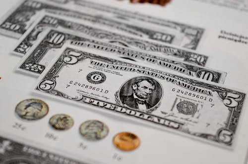 Free stock photo of dollars, money, paper money