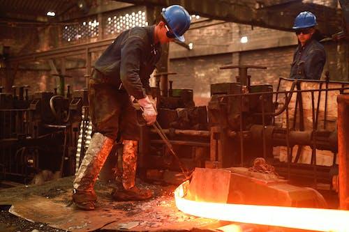 Immagine gratuita di acciaio, acero, fabbrica, fabbrica di acciaio